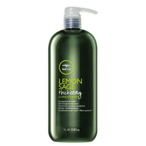 Paul Mitchell Tea tree Lemon sage Thickening conditioner 1000 ml - Condizionatore volumizzante energizzante