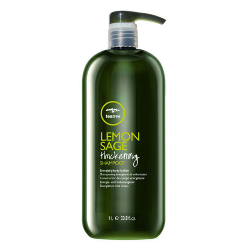 Paul Mitchell Tea tree Lemon sage Thickening shampoo 1000ml - Shampoo sebonormalizzante