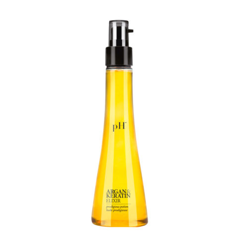 PH Laboratories Argan and Keratin Elixir 100ml - siero ristrutturante