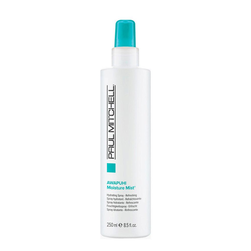 Paul Mitchell Moisture Awapuhi moisture mist 250ml - balsamo spray idratante per capelli molto secchi