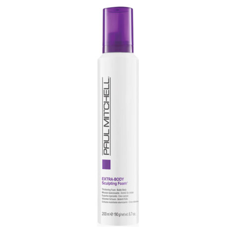 Paul Mitchell Extra body Sculpting foam 200ml - schiuma volumizzante per capelli fini