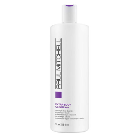 Paul Mitchell Extra body Conditioner 1000ml - balsamo volumizzante per capelli fini