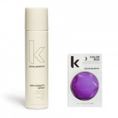 Kevin murphy Styling Kit Color bug purple 5gr + Anti gravity spray 150ml