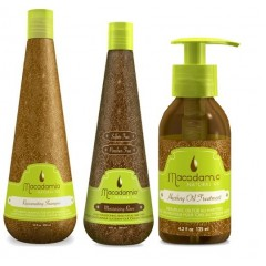 Kit Rejuvenating Shampoo 300ml Moisturizing Rinse 300ml Healing Oil Treatment 125 ml