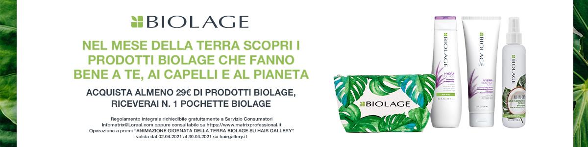 Biolage Matrix, prodotti naturali per capelli
