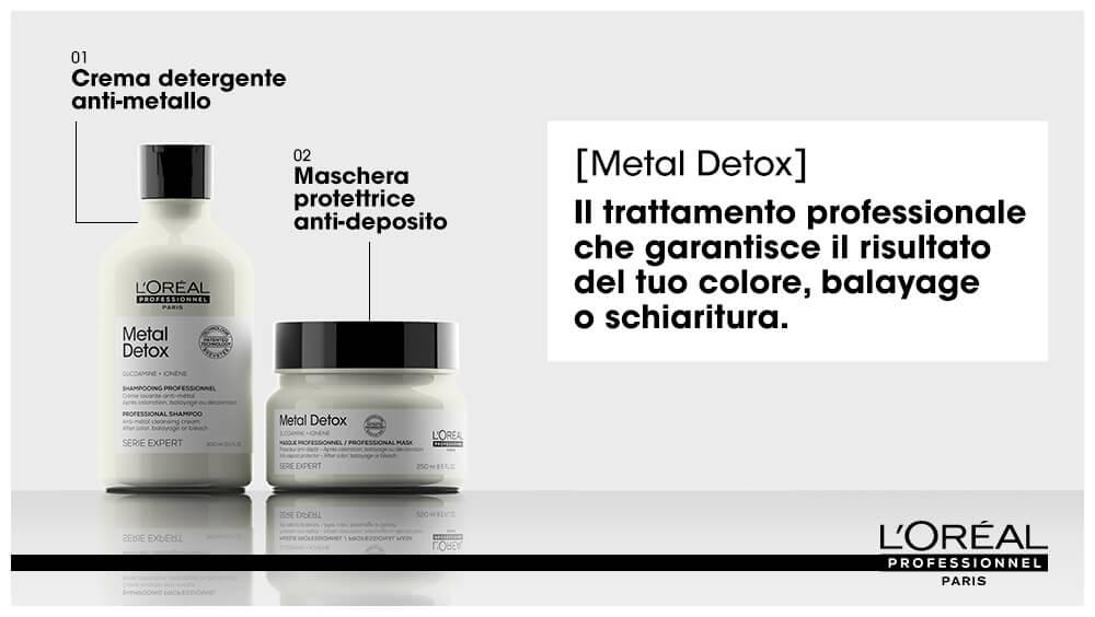 Libera i capelli dai residui nocivi con L'Oréal Metal Detox